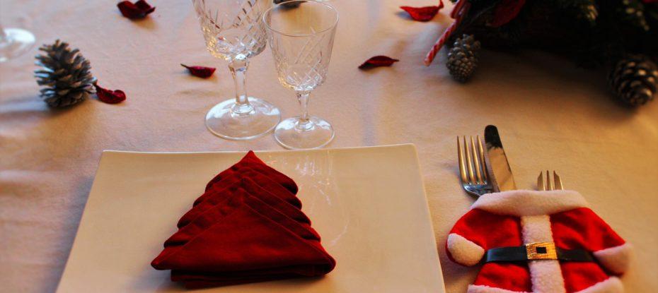Vianočný stôl